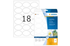 OVAL LABELS HERMA MOVABLES N.4358